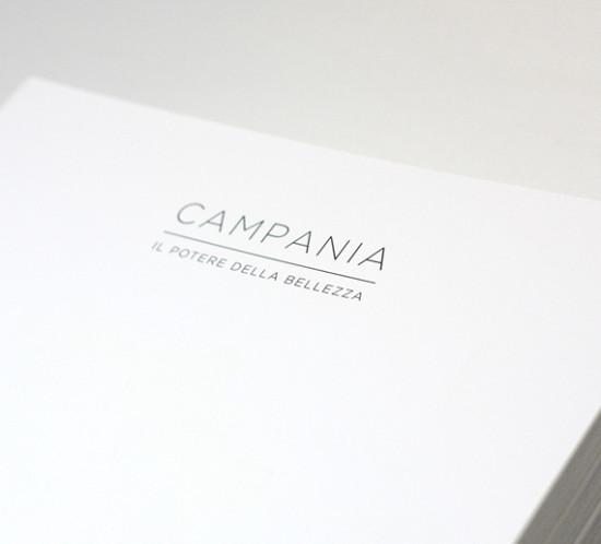 Catalogo Campania. Book, libro, layout, grafica, comunicazione, manuarino