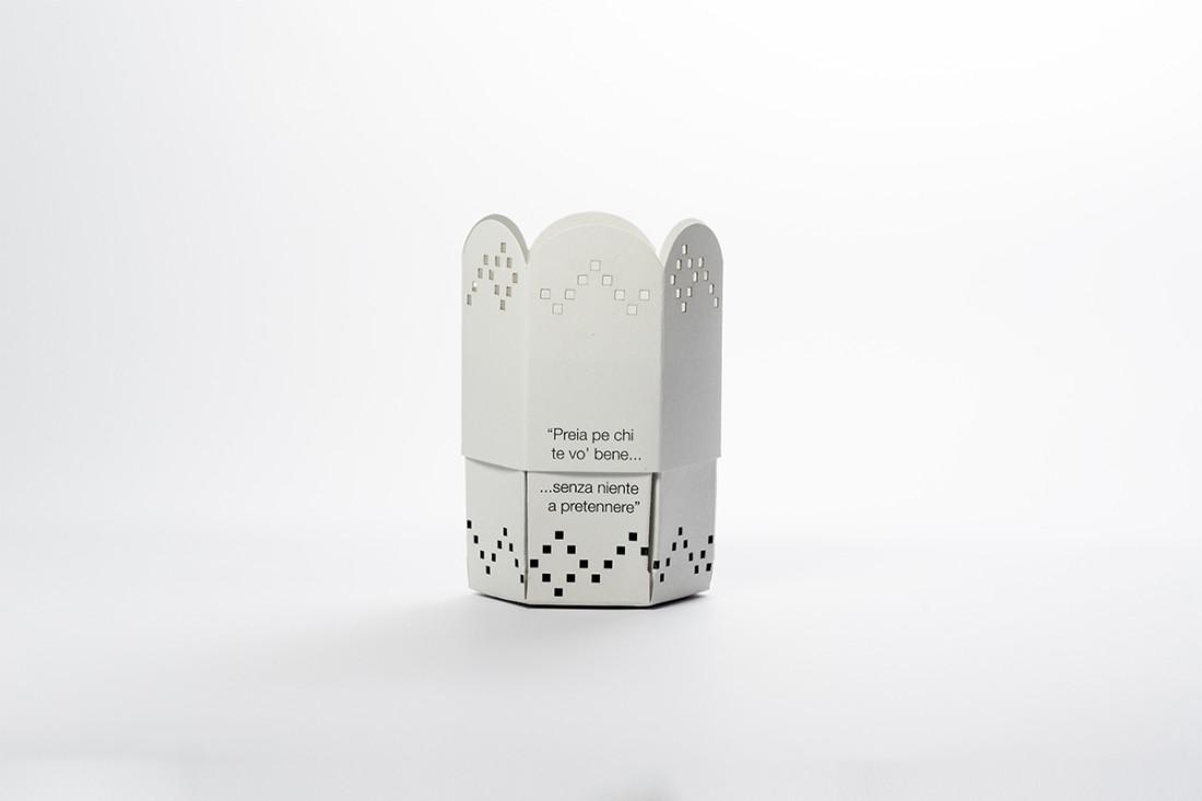 Gadget per Purgatorio ad Arco, Napoli. Packaging, comunicazione, design