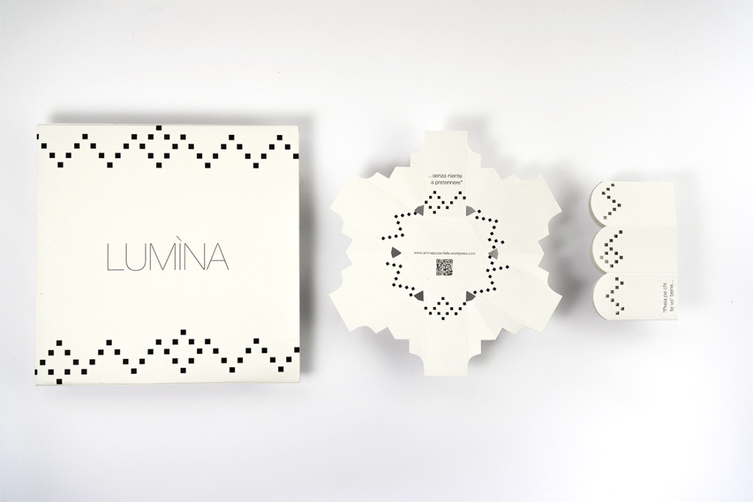 Lumina. Portancandela. Packaging design, comunicazione manuarino