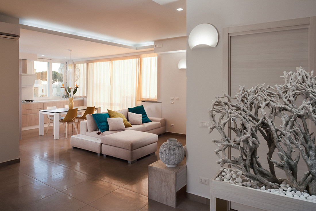 Architetto Napoli. Casa N+V. Manuarino. Interior Design