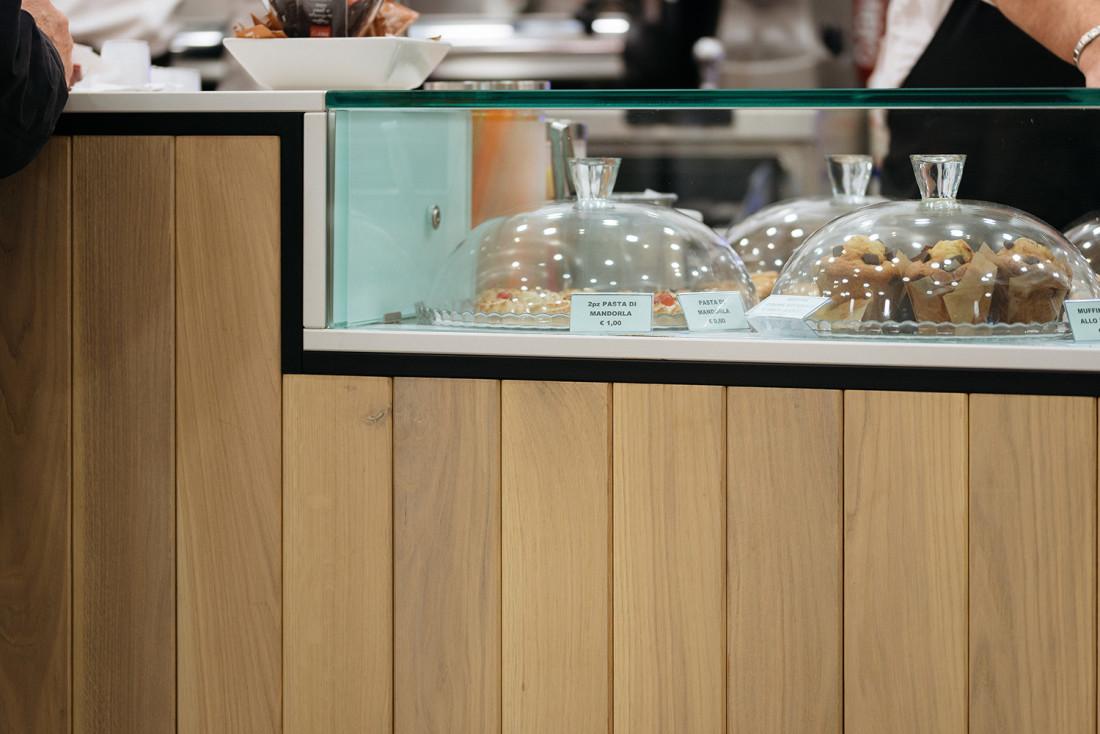 Detail Banco bar Tipico. Manuarino architettura