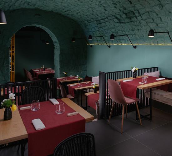 Progetto di un ristorante a bacoli