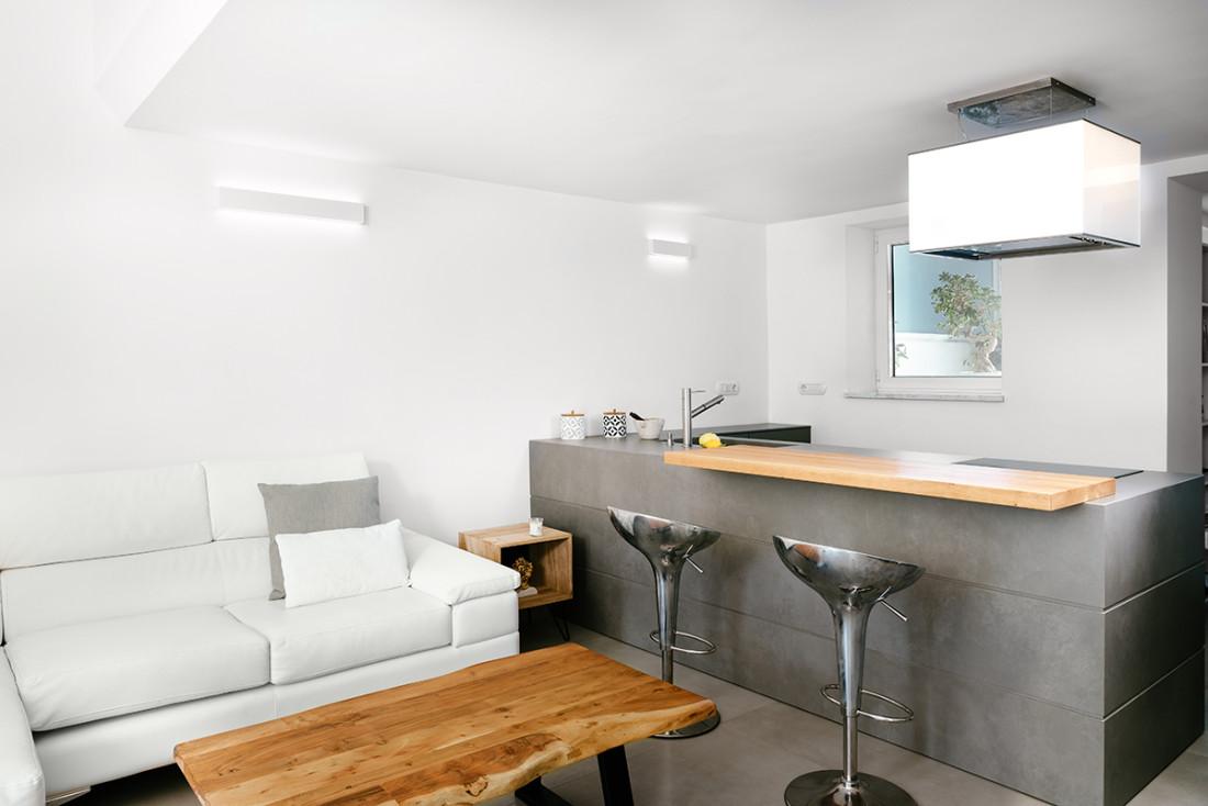 cucina e living Manuarino architettura