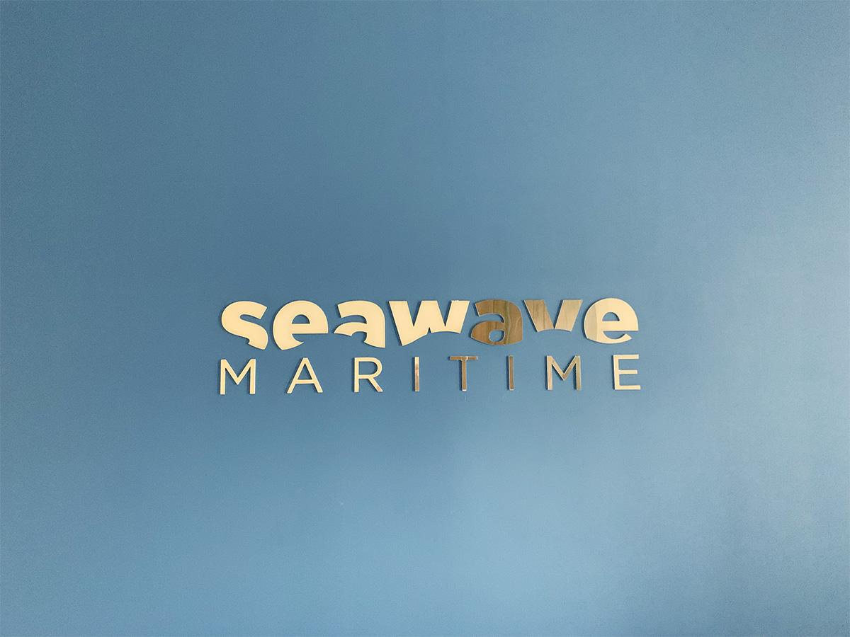 Seawave. Grafica. Monte di Procida Napoli.